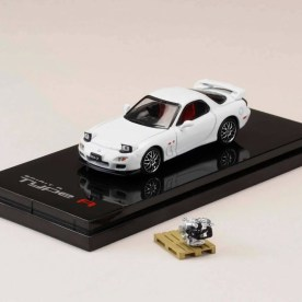 Hobby-Japan-Minicar-Project-Mazda-RX-7-FD3S-Spirit-R-white