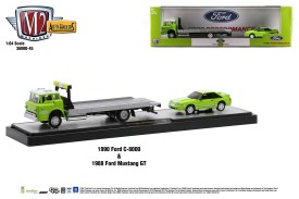 M2-Machines-Auto-Haulers-45-1990-Ford-C-800-1988-Ford-Mustang-GT-Custom