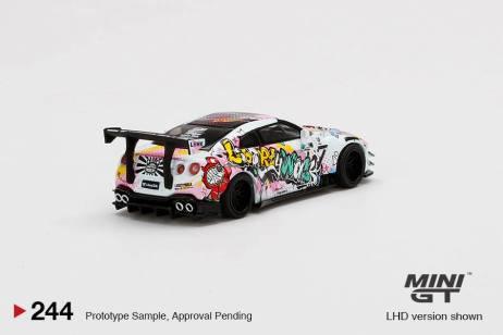 Mini-GT-LB-Works-Nissan-GT-R-R35-Type-2-Rear-Wing-ver-3-LBWK-Kuma-Graffiti-003