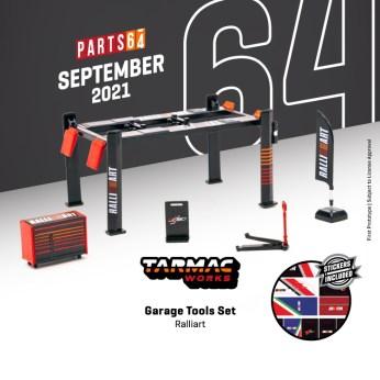 Tarmac-Works-Garage-tools-set-Ralliart