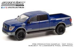 GreenLight-Collectibles-All-Terrain-Series-12-2018-Nissan-Titan-XD-Pro-4X-Lifted