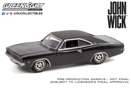 GreenLight-Collectibles-Hollywood-33-1968-Dodge-Charger-RT