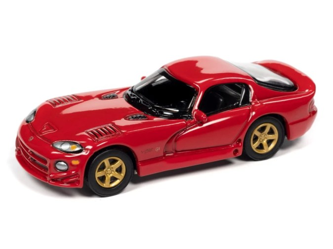 Johnny-Lightning-Classic-Gold-2021-Release-1-Set-A-1997-Dodge-Viper-GTS-Gold-Package