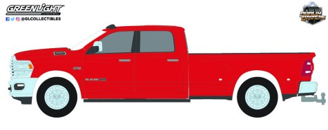GreenLight-Collectibles-Dually-Drivers-Series-9-2021-Ram-3500-Dually-Limited-Edition-Longhorn-Edition-Flame-Red-Clear-Coat