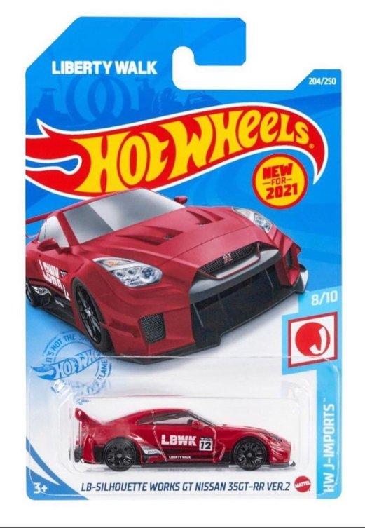 Hot-Wheels-Mainline-2021-LB-Silhouette-Works-GT-35GT-RR-Ver-2