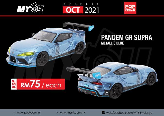 Pop-Race-Pandem-GR-Supra-Metallic-Blue