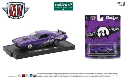 M2-Machines-Drivers-Release-75-1971-Dodge-Charger-Custom