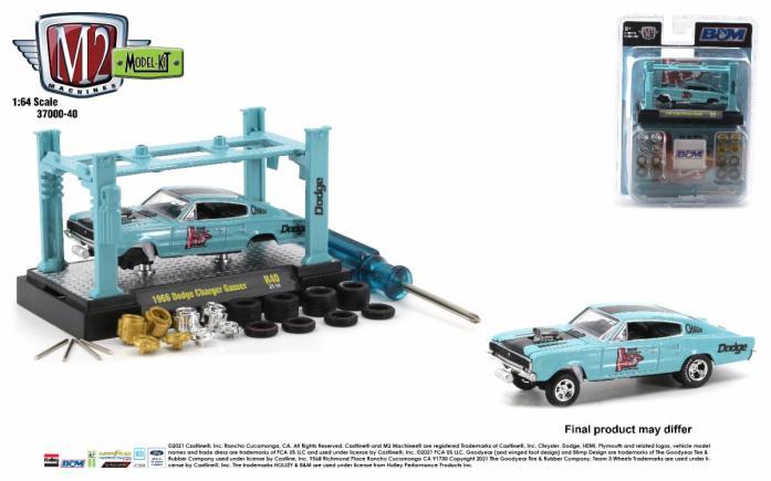 M2Machines-Model-Kit-Release-40-1966-Dodge-Charger-Gasser