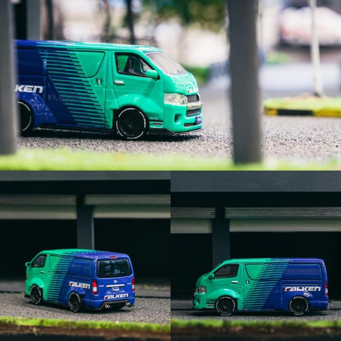 Tarmac-Works-Toyota-Hiace-Widebody-Falken-001