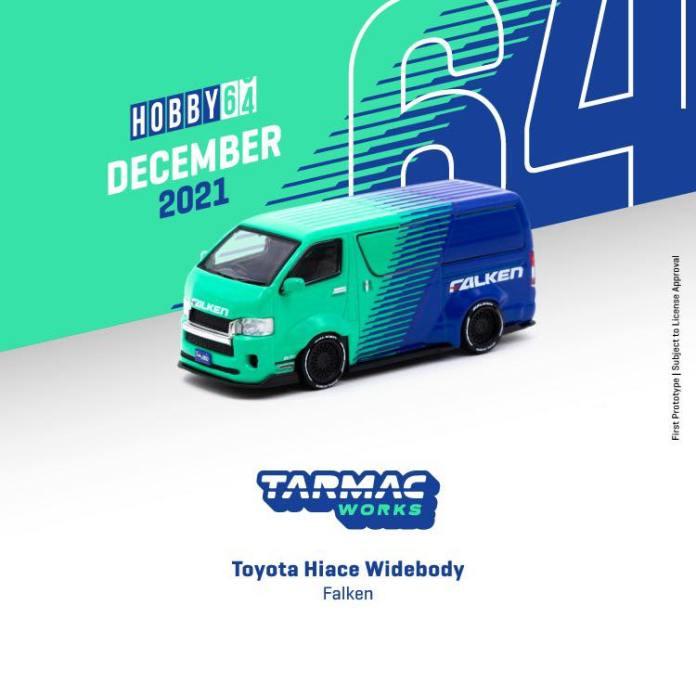 Tarmac-Works-Toyota-Hiace-Widebody-Falken-002
