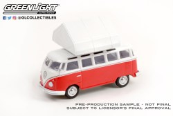 GreenLight-Collectibles-The-Great-Outdoors-Series-1-1964-Volkswagen-Samba-Bus