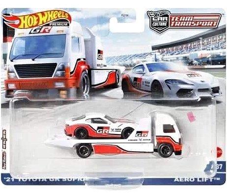 Hot-Wheels-Car-Culture-Team-Transport-Mix-N-21-Toyota-GR-Supra-Aero-Lift