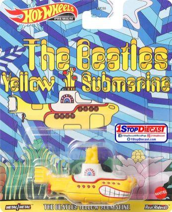Hot-Wheels-Replica-Entertainment-2021-The-Beatles-Yellow-Submarine