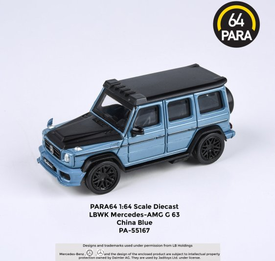Para64-Mercedes-G63-Liberty-Walk-China-Blue-001