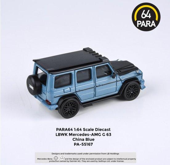 Para64-Mercedes-G63-Liberty-Walk-China-Blue-002