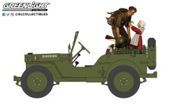 GreenLight-Collectibles-Norman-Rockwell-Series-4-1945-Willys-MB-Jeep