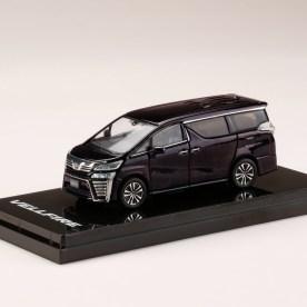 Hobby-Japan-Minicar-Project-Toyota-Vellfire-H30W-Burning-Black-Crystal-Shine-Glass-Flake-001