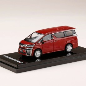 Hobby-Japan-Minicar-Project-Toyota-Vellfire-Hybrid-H30W-Dark-Red-Mica-Metallic-001