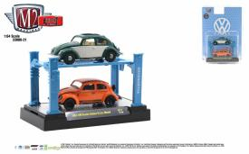 M2-Machines-Auto-Lifts-release-21-1953-VW-Beetle-Deluxe-USA-Model