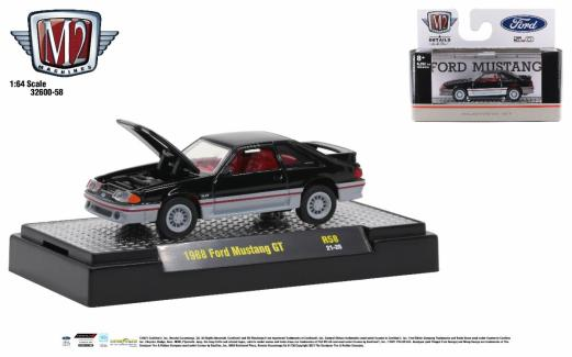 M2-Machines-Detroit-Muscle-Release-58-1988-Ford-Mustang-GT