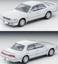 Tomica-Limited-Vintage-Neo-Nissan-Laurel-2500-Twincam24V-Medalist-V-1992-White-002