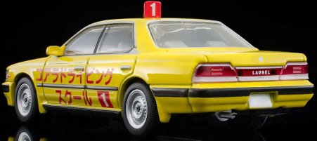 Tomica-Limited-Vintage-Neo-Nissan-Laurel-Driving-School-1992-Yellow-006