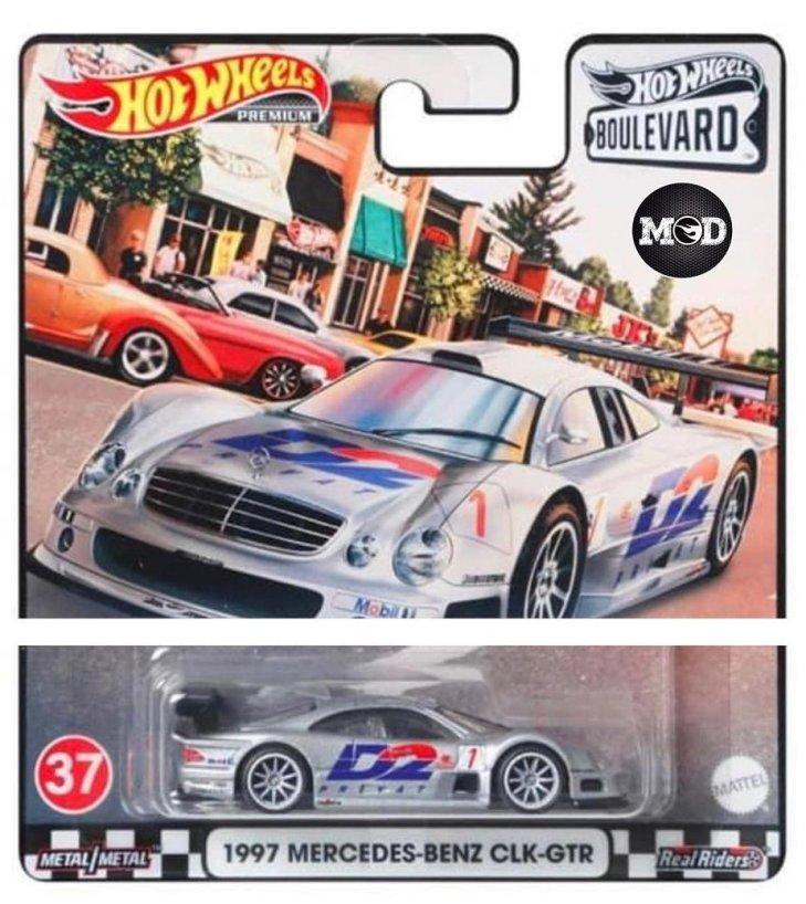 Hot-Wheels-Boulevard-Mix-H-1997-Mercedes-Benz-CLK-GTR