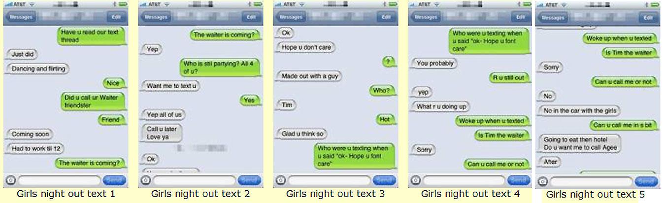 Cuckold Girlfriend Text Message-5417