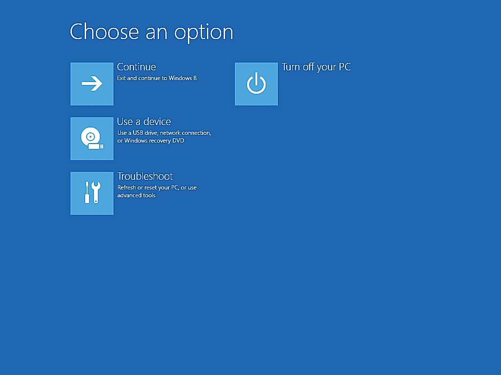 Safe Mode Windows Mode sans échec