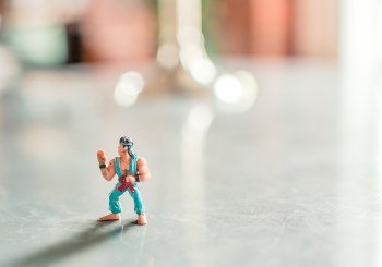 Small Ninja Action Figure
