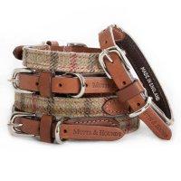 Mutts & Hounds Balmoral Tweed Dog Collar