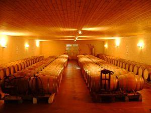 C'est là que le vin est élevé paisiblement