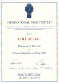Diplome 2005 Monde selection