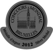 Médaille Argent mondial du vin