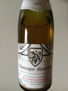 Chassagne montrachet 2002 blondeau.JPG