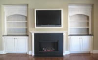 GAS FIREPLACE UNVENTED SMELL  Fireplaces
