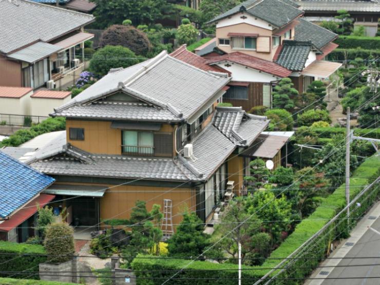 japan houses a look