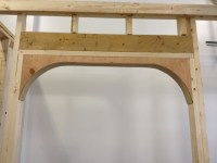 How To Build or Construct an Arched Opening