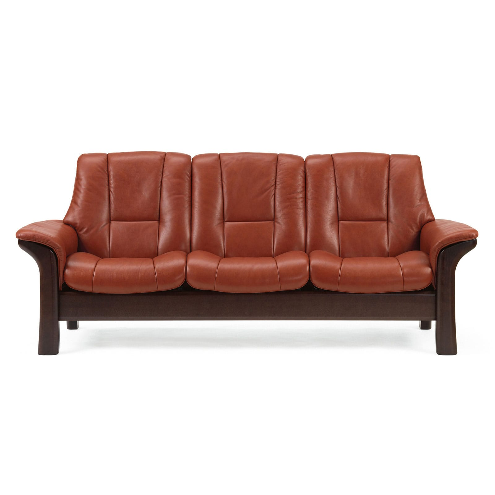 stressless eldorado sofa top of the line leather sofas 3 sitzer windsor m niedrig paloma copper