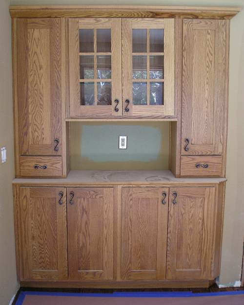 Painted Kitchen Cabinets Vs Stained: Restaining Oak Cabinets Lighter