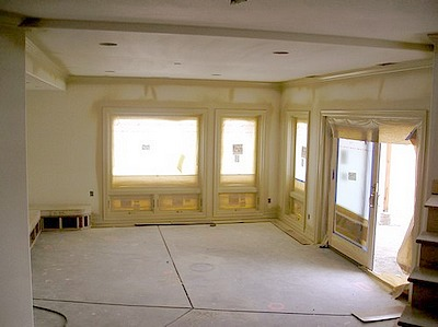 New Construction  Painting a Room That Has Never Been