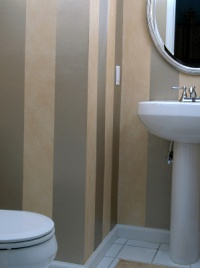 Painting Stripes  An Easy and Attractive Decorative Effect