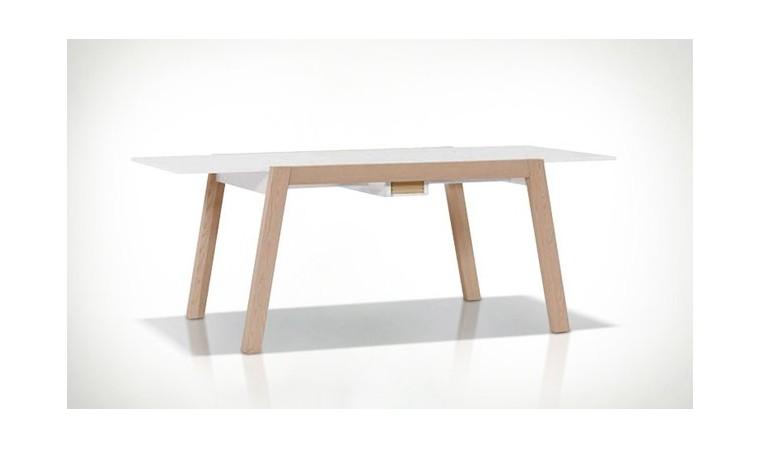 table a manger avec rallonge design scandinave spot