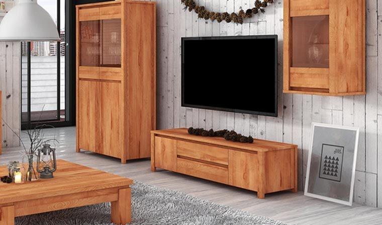 meuble design pour television en hetre massif kauffman 3