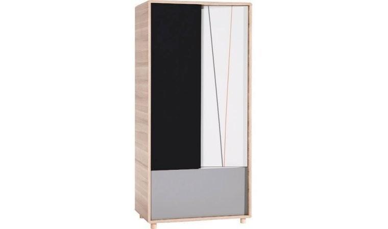 armoire enfant 2 portes evolve