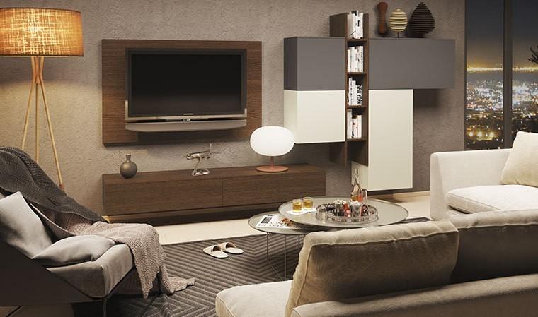 mobilier suspendu meuble tv rangements espace 103