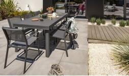 salon de jardin en aluminium house