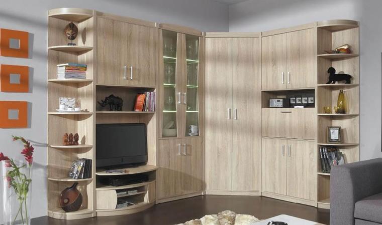 ensemble de meubles de salon couleur chene sonoma ruben