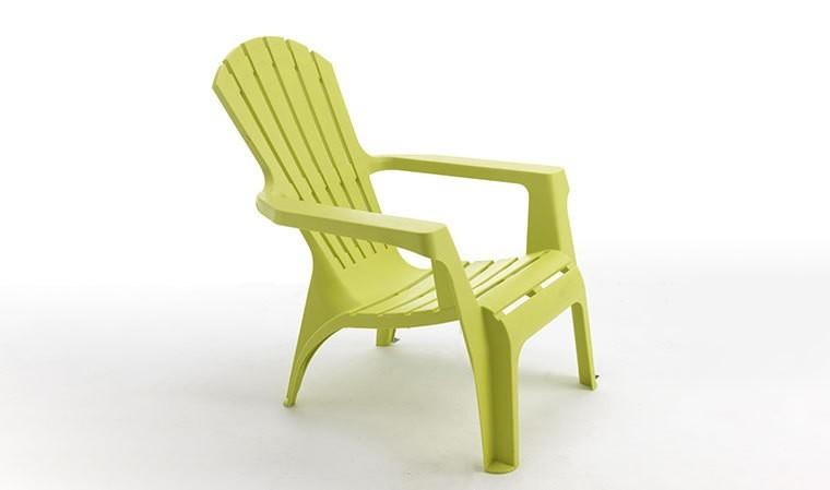 Fauteuil Vintage Vert Anis Relax Confort En Rsine Plastique