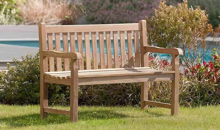 Banc De Jardin En Teck 2 Places Design Et Qualit Haut